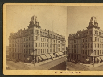 The Windsor Hotel, Denver. Original stereogram by James Collier. (Credit: ZAP Collection/Alamy Stock Photo)