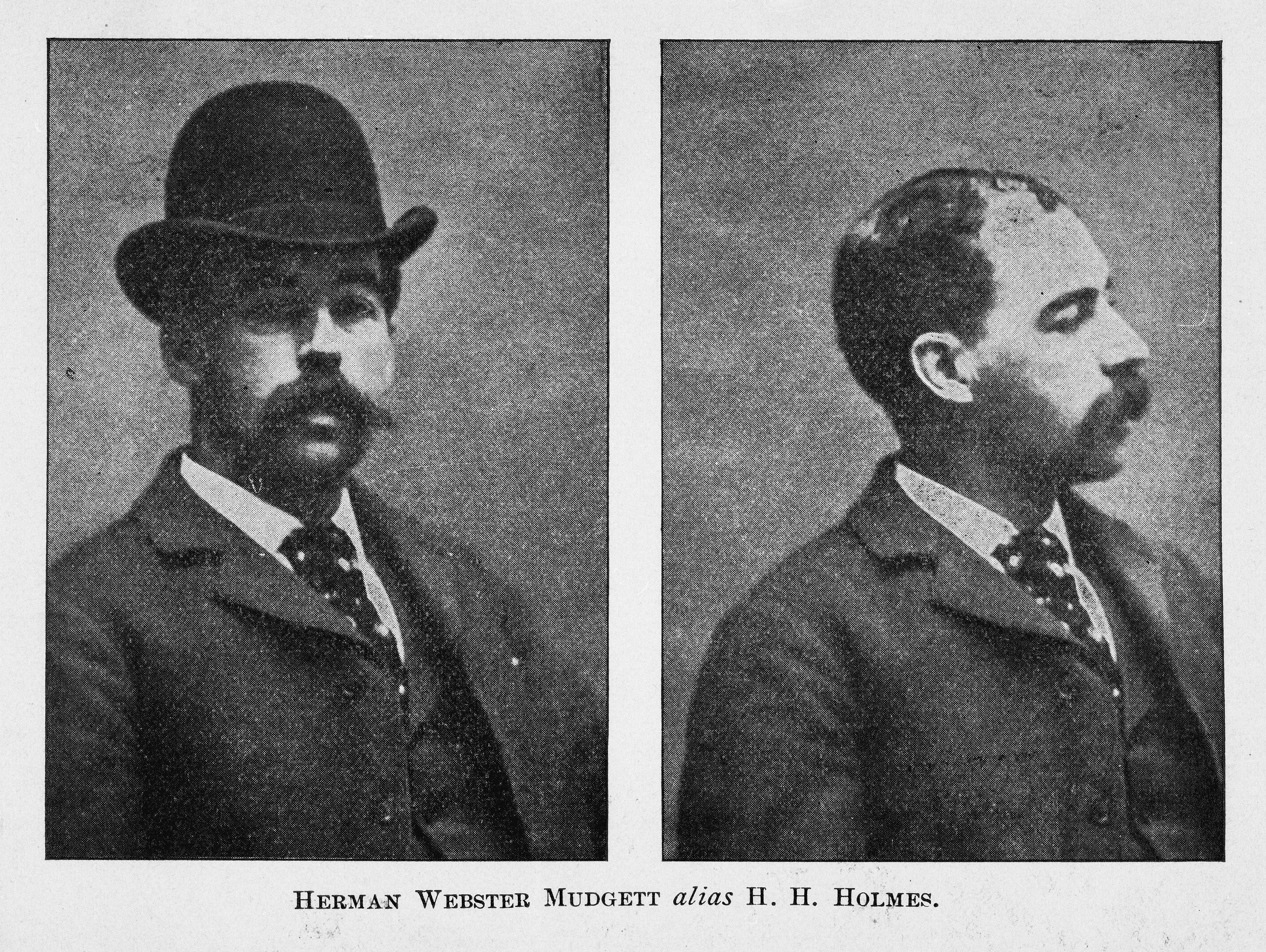 American Pharmacist And Convicted Serial Killer Herman Webster Mudgett Better Known By His Alias HH