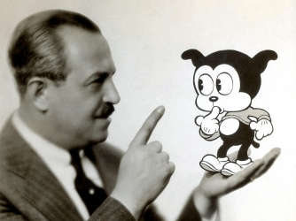 Animator Max Fleischer. (Credit: Science History Images/Alamy Stock Photo)