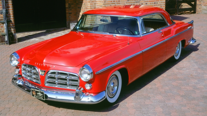 1955 Chrysler C300. (Credit: National Motor Museum/Heritage Images/Getty Images)