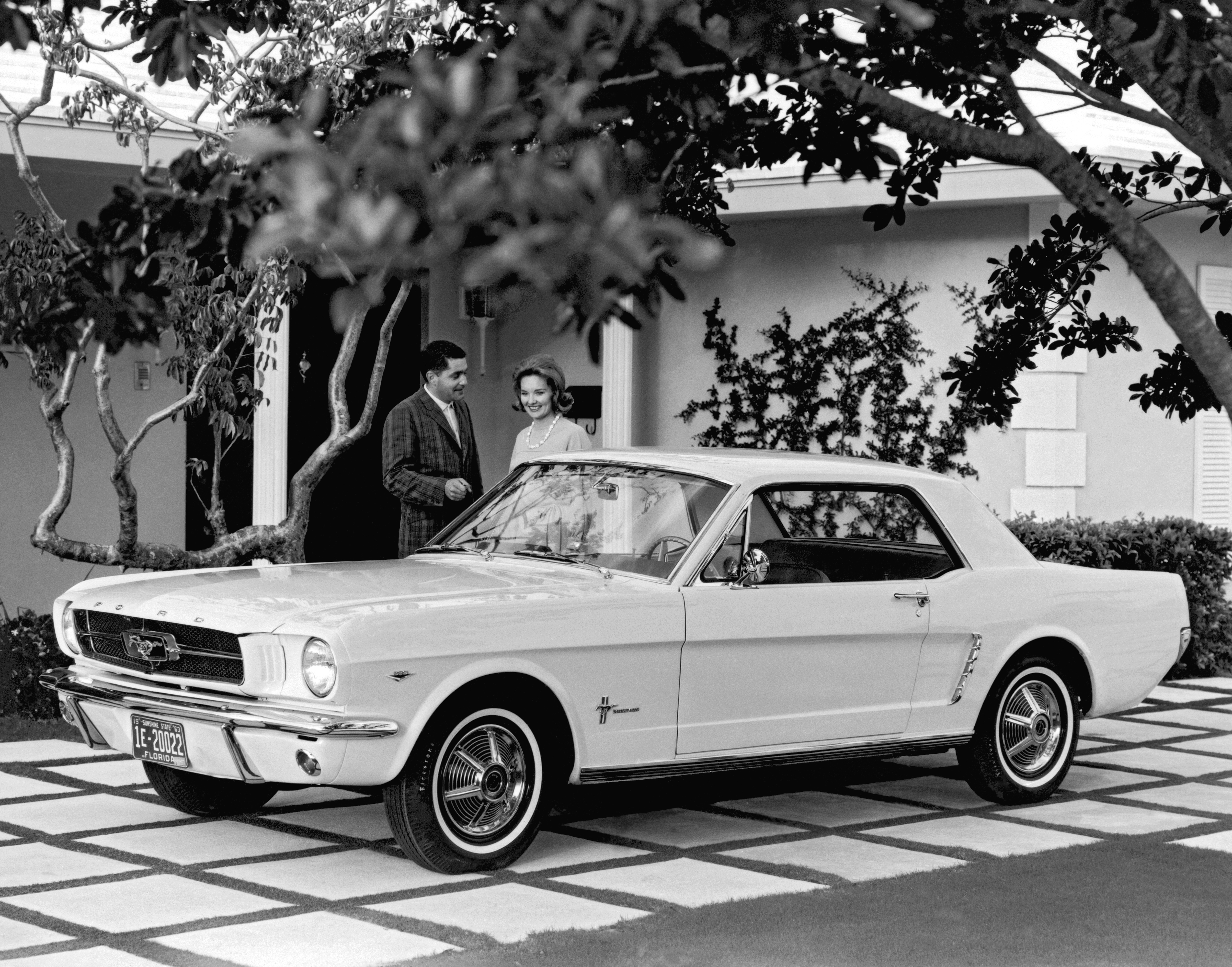 Ford Mustang, Which Was Introduced To The Public On April 17, 1964 At The