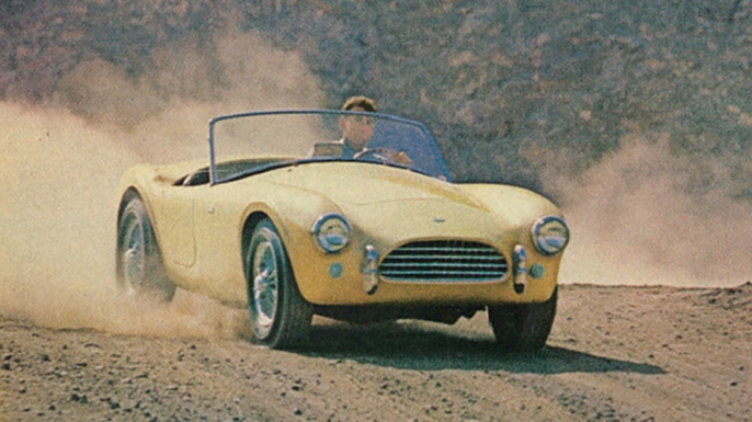 1960s magazine advertisement for the Ford Shelby Cobra. (Credit: Classic Film/Flickr Commons/CC BY-NC 2.0)