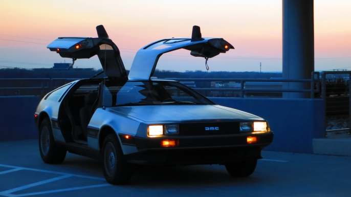 1981 DeLorean DMC-12. (Credit: Ian Weddell/Flickr Commons/CC BY-NC 2.0)