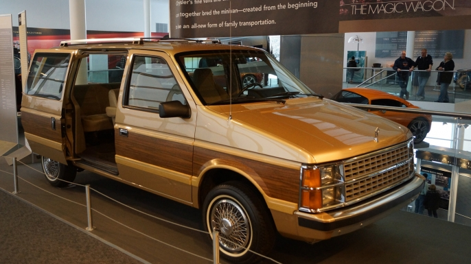 1984 Dodge Caravan at the Walter P. Chrysler Museum. (Credit: Greg Gjerdingen/Flickr Commons/CC BY 2.0)