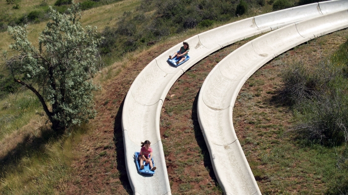 Alpine slide. (Credit: Charles Wilgren/Flickr Creatiev Commons/CC BY 2.0)