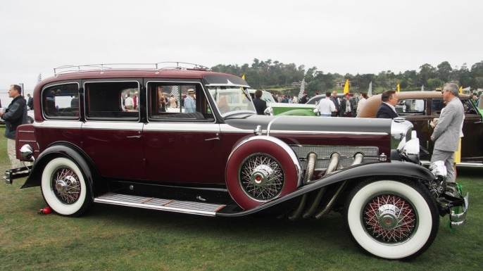 1929 Duesenberg Model J. (Courtesy of Rick Carey)