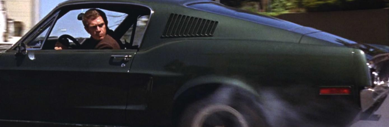 1968 Mustang from <em>Bullitt</em>. (Credit: Photo 12/Alamy Stock Photo)