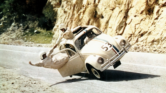 """Herbie"" from The Love Bug. (Credit: AF Archive/Alamy Stock Photo)"