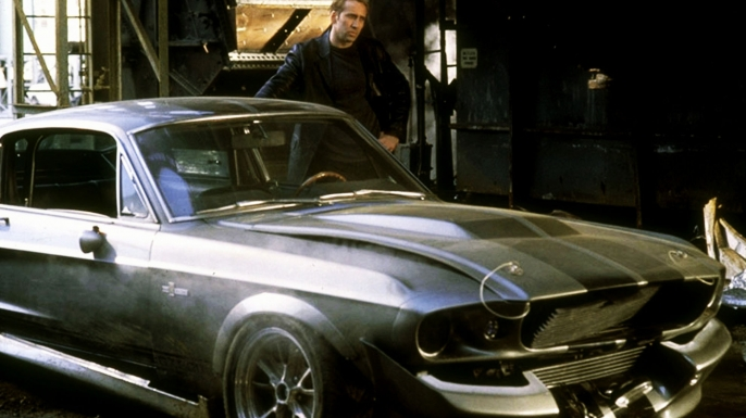 Nicolas Cage in Gone in 60 Seconds. (Credit: AF Archive/Alamy Stock Photo)