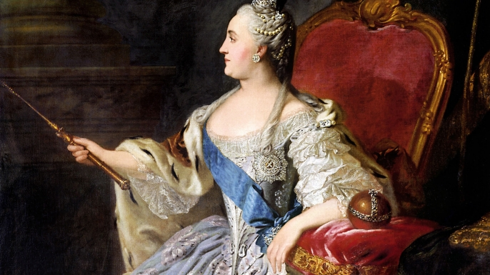 Catherine the Great. (Credit: GL Archive/Alamy Stock Photo)