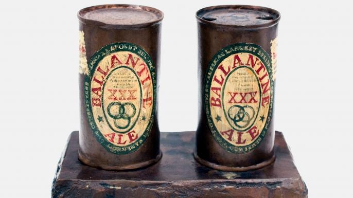 Painted Bronze (Ballantine Ale) by Jasper Johns. (Credit: Peter Horree/Alamy Stock Photo)