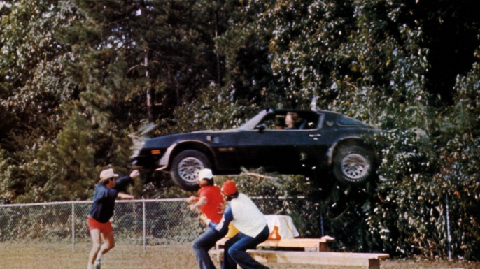 The Pontiac Trans Am from Smokey and the Bandit. (Credit: Ronald Grant Archive/Alamy Stock Photo)