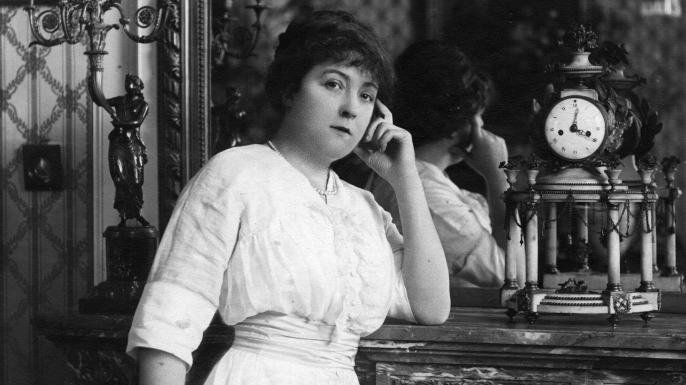 Madame Henriette Caillaux, second wife of French politician Joseph Caillaux, who murdered the editor of 'Le Figaro'.  (Credit: Hulton Archive/Getty Images)