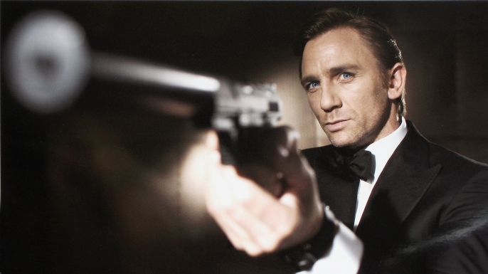 Actor Daniel Craig as James Bond in Casino Royale. (Credit: Greg Williams/Eon Productions via Getty Images)