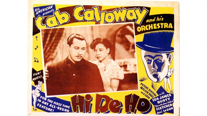 Photo of lobby card for Cab Calloway's Hi De Ho. (Credit: GAB Archive/Redferns/Getty Images)