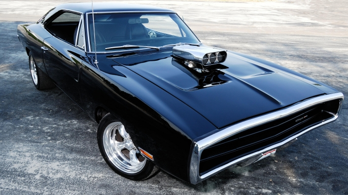 1970 Dodge Charger 1970. (Credit: Massimo Dallaglio/Alamy Stock Photo)