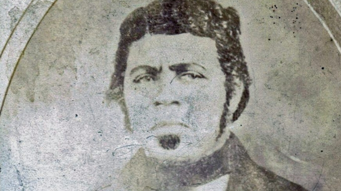 Paul Jennings, who had been freed after being a slave for President James Madison. (Credit: The Estate of Sylvia Jennings Alexander)