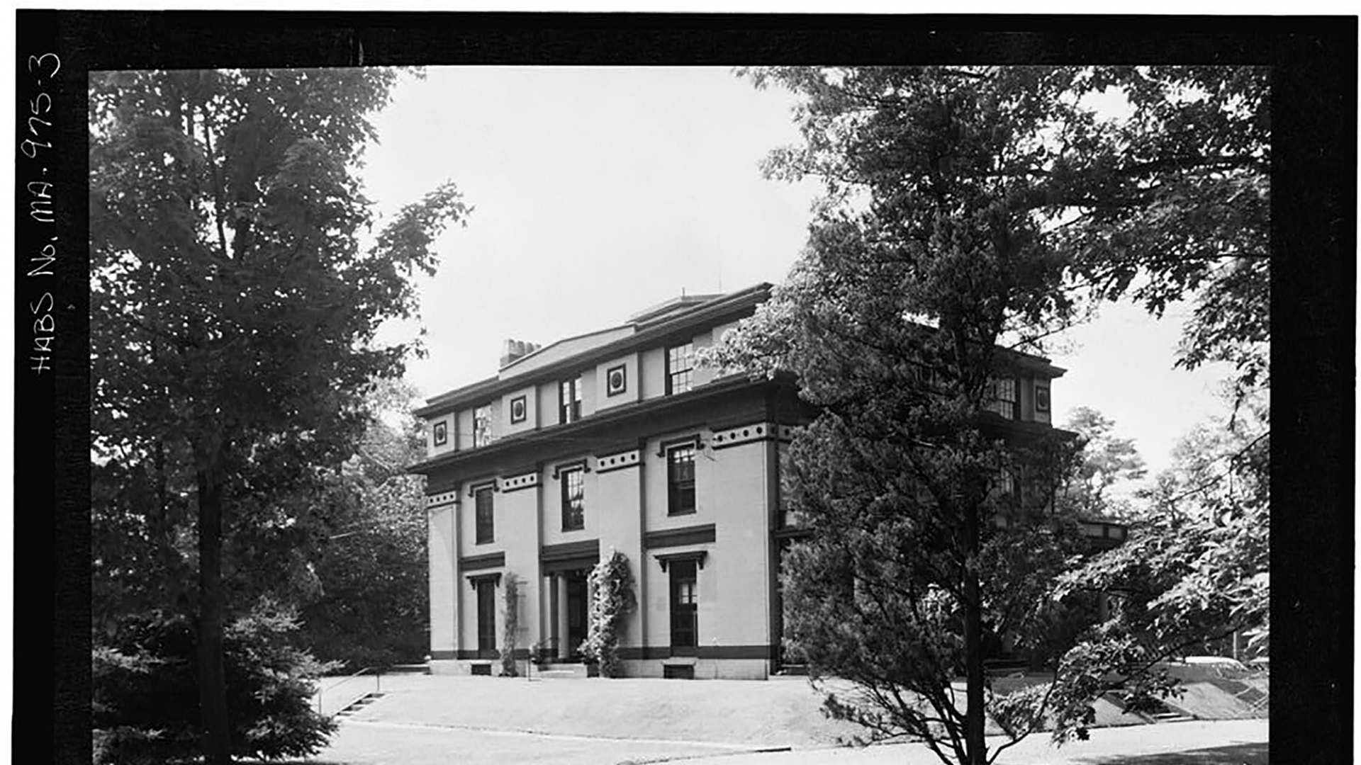 Captain Robert Bennett Forbes House in Milton, MA. (Credit: The Library of Congress)