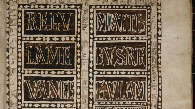 Fortunatianus' text translated by Houghton. (Credit: Cologne Cathedral Library)