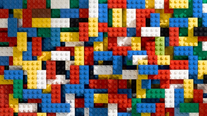 LEGO blocks. (Credit: Agencja Fotograficzna Caro/Alamy Stock Photo)