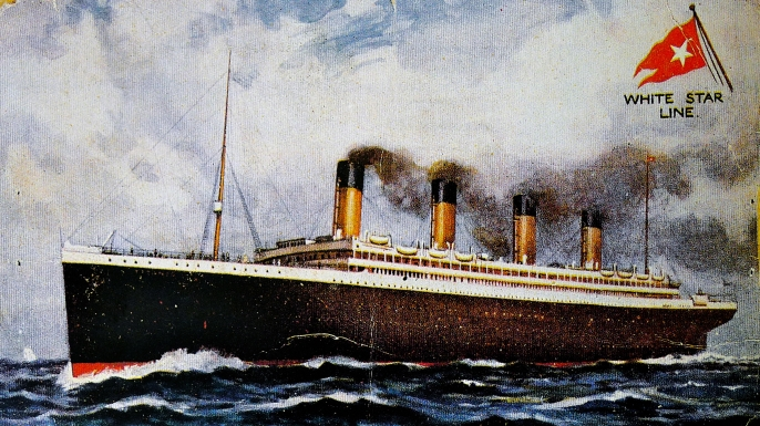 Titanic postcard, 1907. (Credit: World History Archive/Alamy Stock Photo)