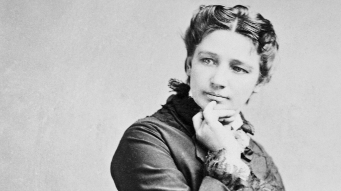Victoria Claflin Woodhull, circa 1872. (Credit: Bettmann/Getty Images)
