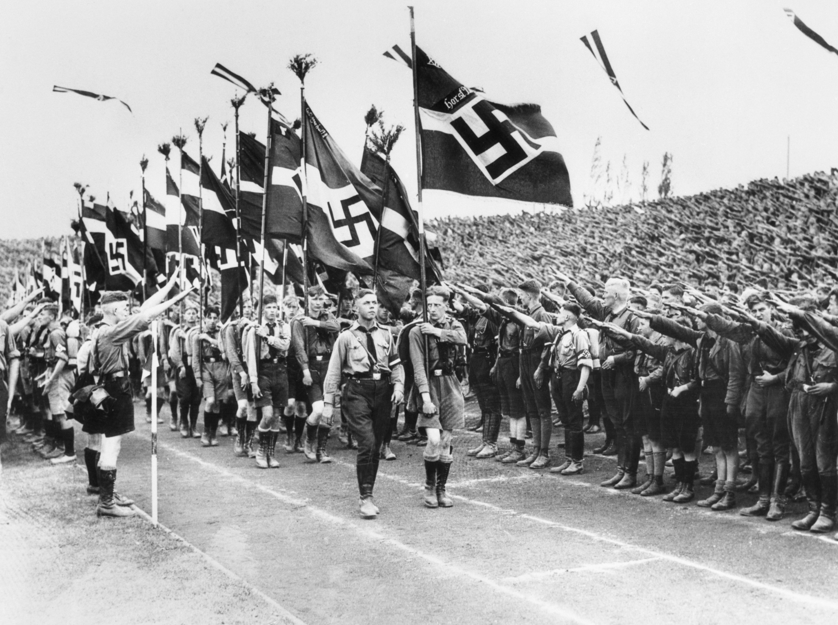 how the nazi party become the In the mid-1920s, joseph goebbels was given the difficult task of fostering support for the growing nazi party in berlin, the reddest city in europe besides moscow.