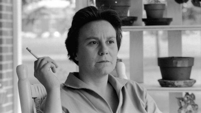 'To Kill a Mockingbird' author Harper Lee.