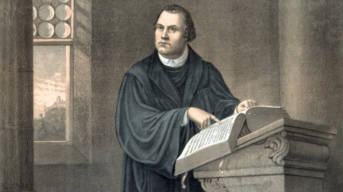 Dr Martin Luther, 1483-1546. (Credit: Universal History Archive/UIG via Getty images)
