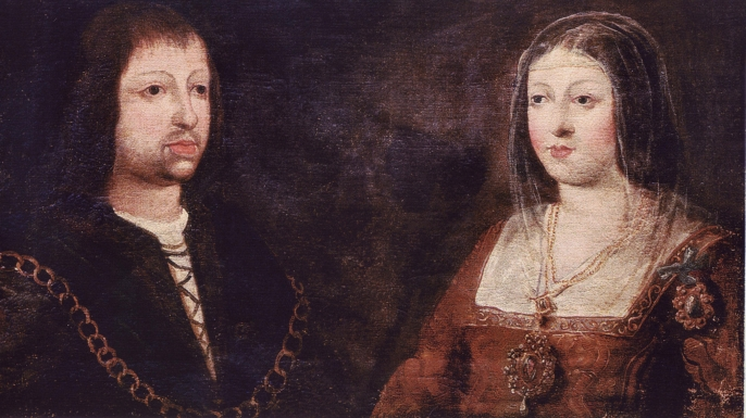 Ferdinand of Aragon and Isabella of Castile. (Credit: ART Collection/Alamy Stock Photo)