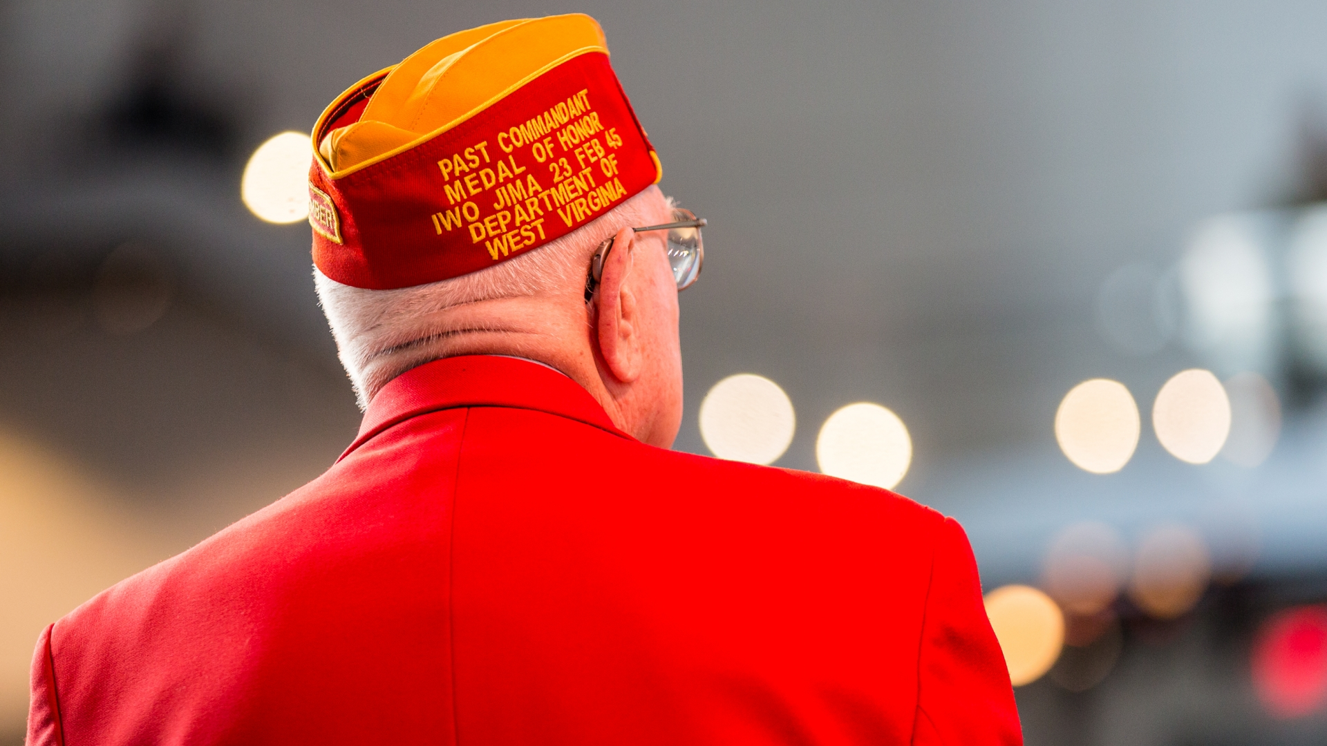 Hershel 'Woody' Williams attends the WWII Pacific Theatre Exhibit opening at the National World War II Museum in New Orleans, 2015. (Credit: Josh Brasted/Getty Images)