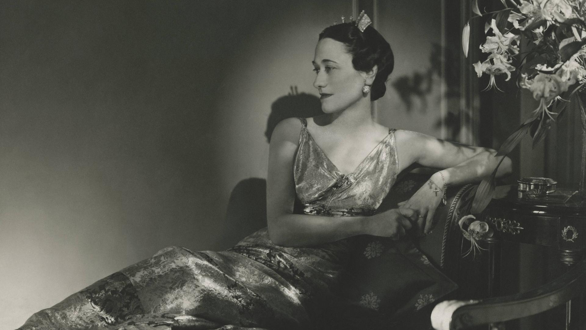 The Duchess of Windsor, Wallis Simpson. (Credit: Horst P. Horst/Condé Nast via Getty Images)