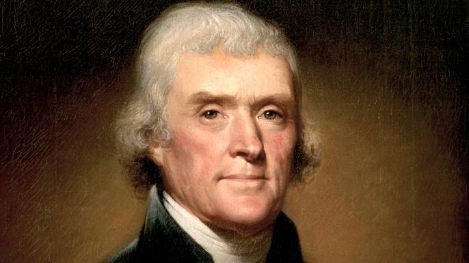 Thomas Jefferson. (Credit: VCG Wilson/Corbis via Getty Images)