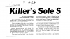 "27 of 32 – Dave Peterson's article in the <em>Vallejo Times-Herald</em>, ""Killer's Sole Survivor Speaks,"" from August 19, 1969. Page 1. (Credit: Dave Peterson)"