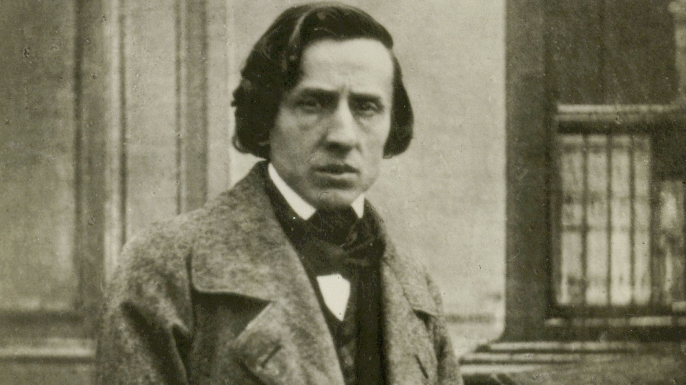 Daguerrotype taken of Polish composer Frederic Chopin a few months before his death in 1849. (Credit: Alfredo Dagli Orti/REX/Shutterstock)