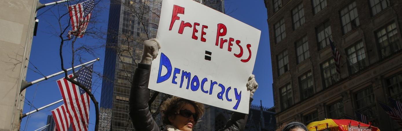 Free Press Protest in America