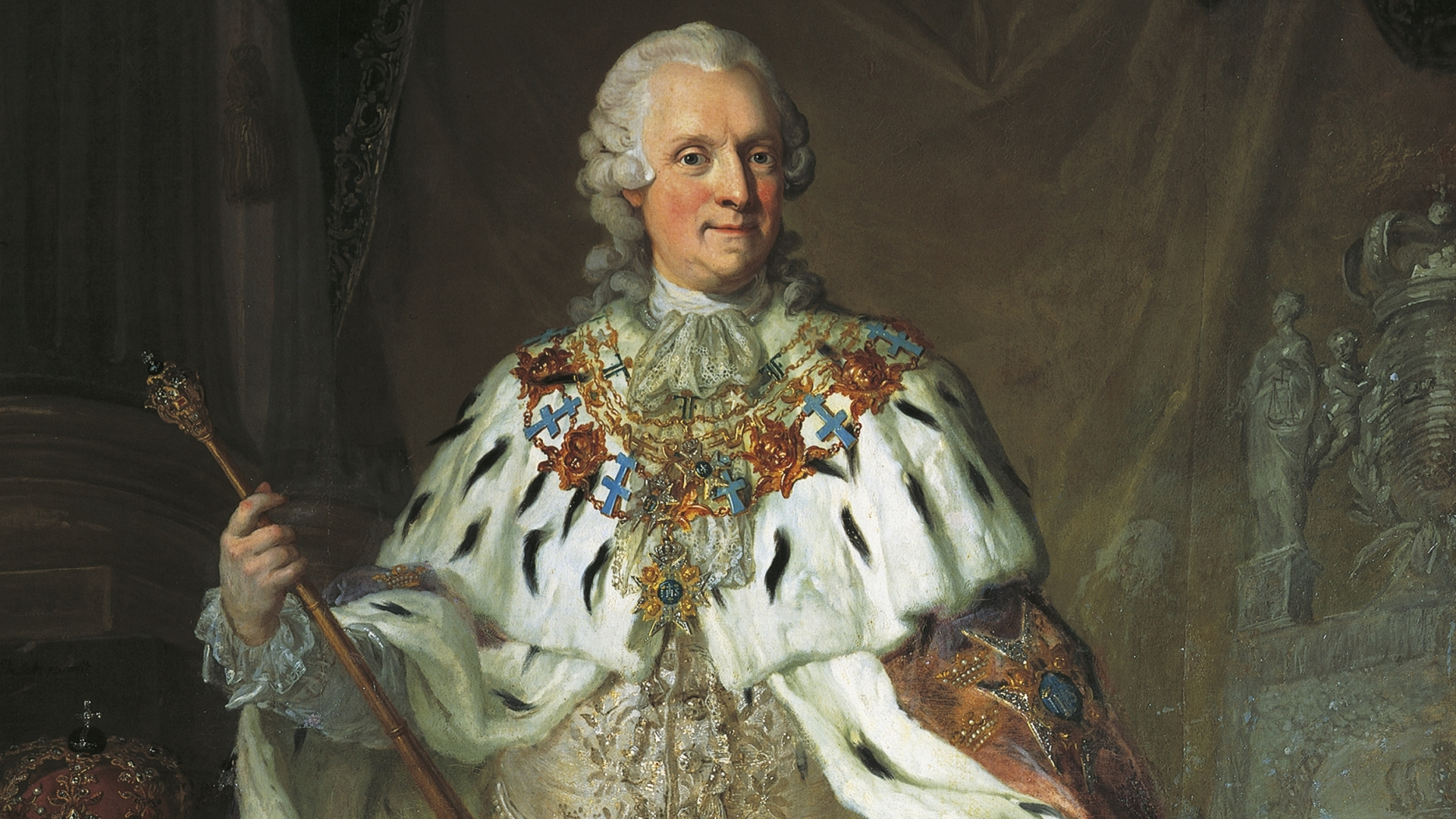 Portrait of Adolf Frederick of Sweden. (Credit: DeAgostini/Getty Images)