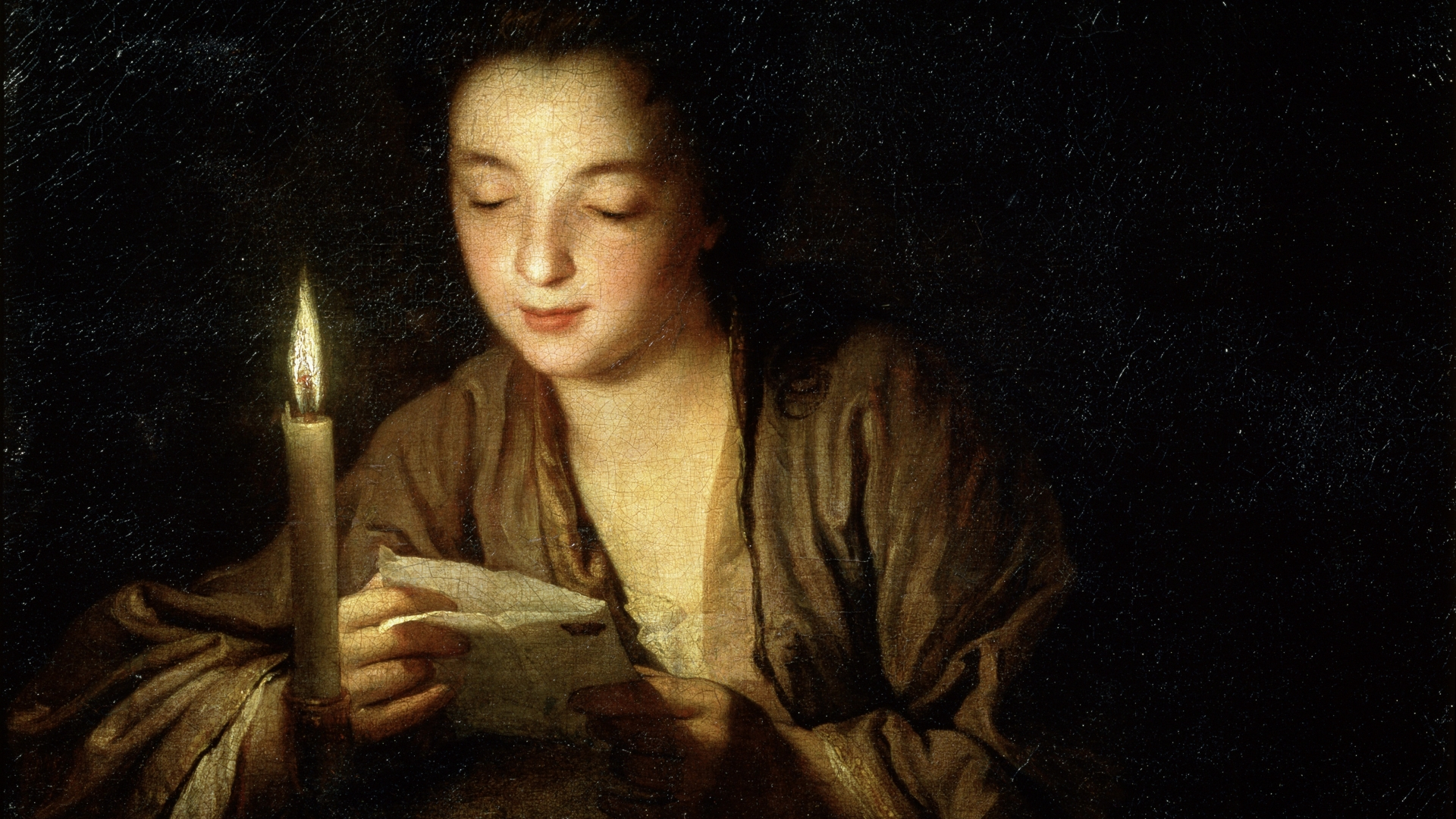 'Girl with a Candle', late 17th century painting in the collection of the State A Pushkin Museum of Fine Arts, Moscow. (Credit: Fine Art Images/Heritage Images/Getty Images)