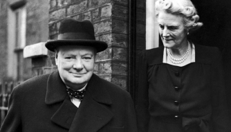 Meet the Woman Behind Winston Churchill