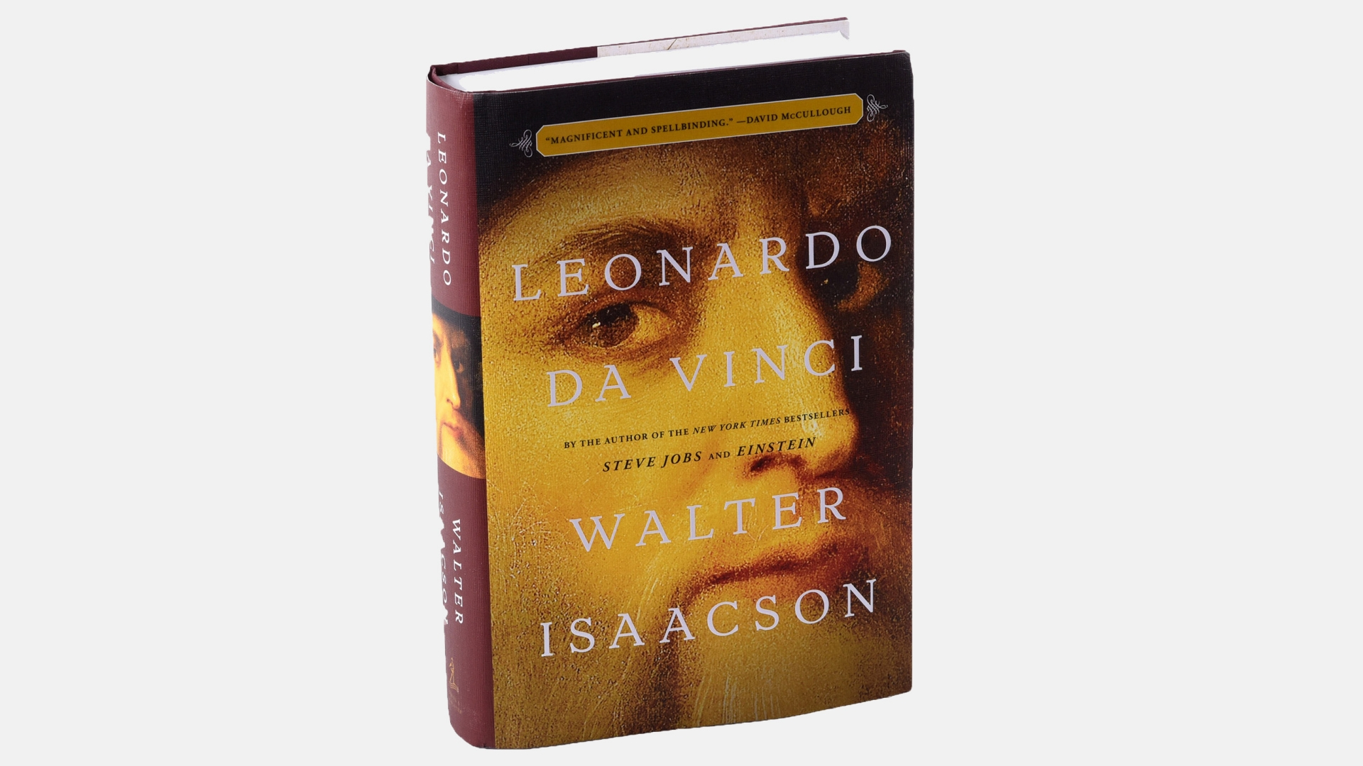 Leonardo Da Vinci, by Walter Isaacson. (Credit: Bill O'Leary/The Washington Post via Getty Images)