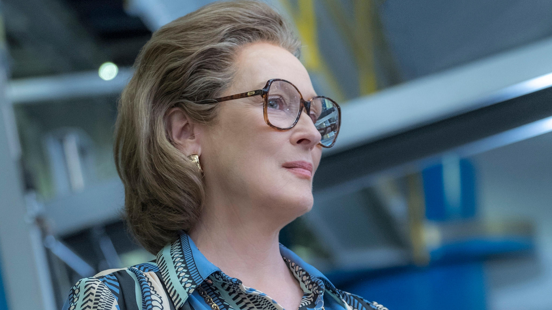 Meryl Streep as Katherine Graham in The Post. (Credit: Twentieth Century Fox/Entertainment Pictures/Alamy Stock Photo)
