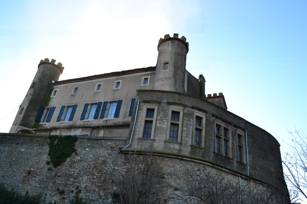 Château de Douzens, in the Corbières wine region. ASKING PRICE: €890,000 ($1.05 million). TEMPLAR TOUCHES: Donated to the Templars in 1133, it includes secret rooms, hidden passages and possible ghosts. SELLING POINTS NOW: Dominating a small village in the Corbières wine region near Carcassonne, this 900-year-old château has four corner towers, nine bedrooms, a spa room and a swimming pool.  (Photo courtesy of GITES a la Française)