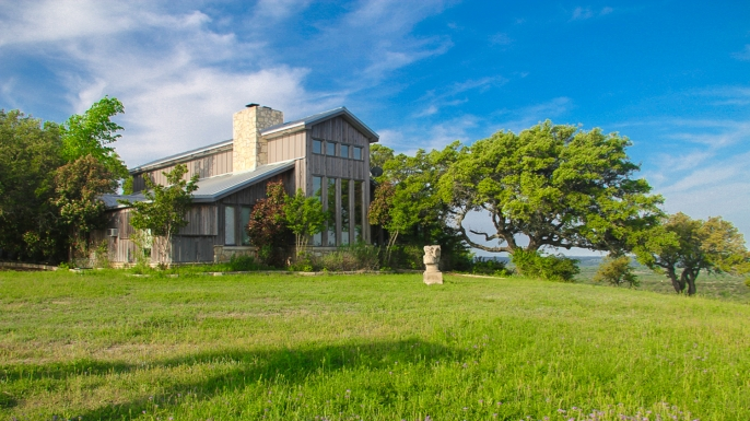 Lyndon B. Johnson's former ranch, now for sale. (Image courtesy of Coldwell Banker)