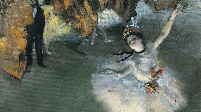L'Etoile by Edgar Degas. (Credit: DeAgostini/Getty Images)
