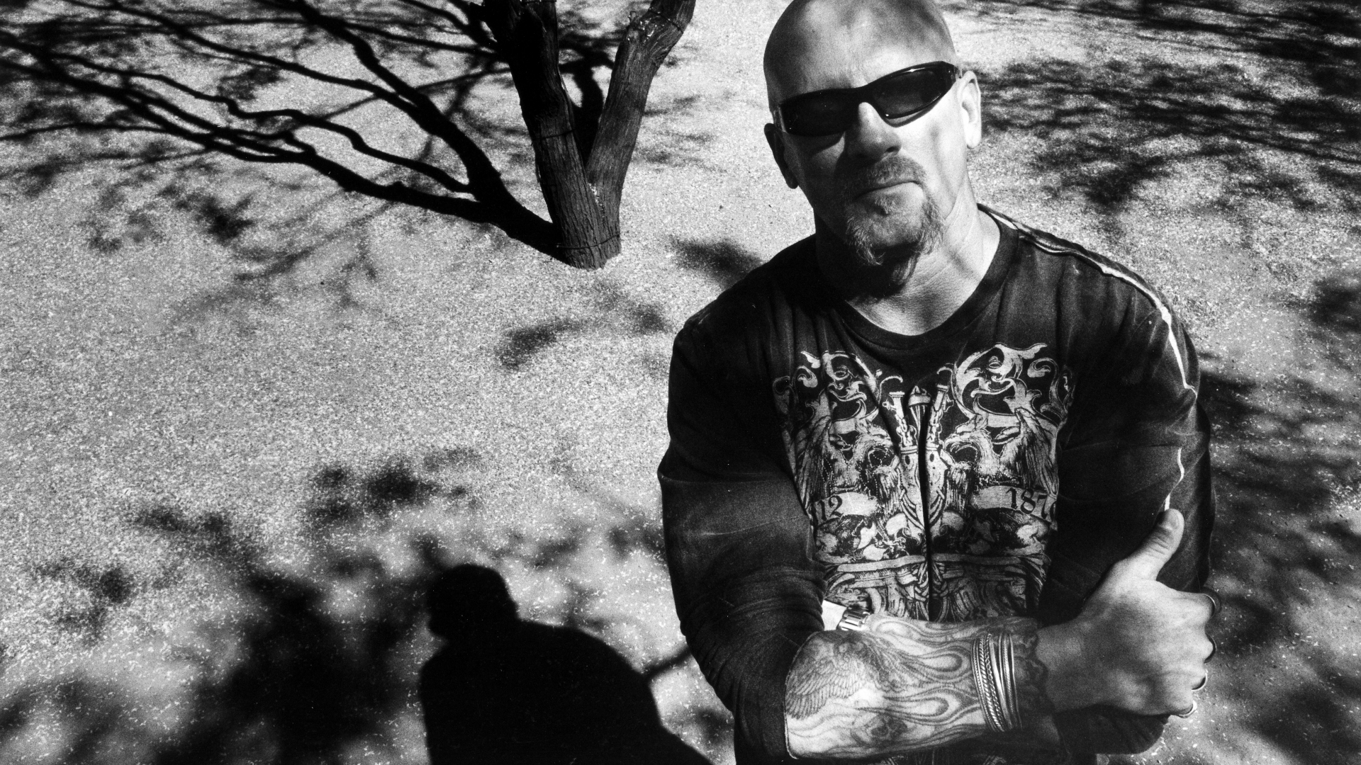 ATF Special Agent Jay Dobyns, who went undercover inside the notorious biker gang, Hells Angels. (Credit: Ian Martin/Getty Images)