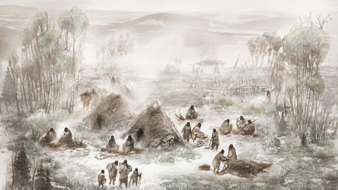 All Native Americans Descended from One Ancestral Population