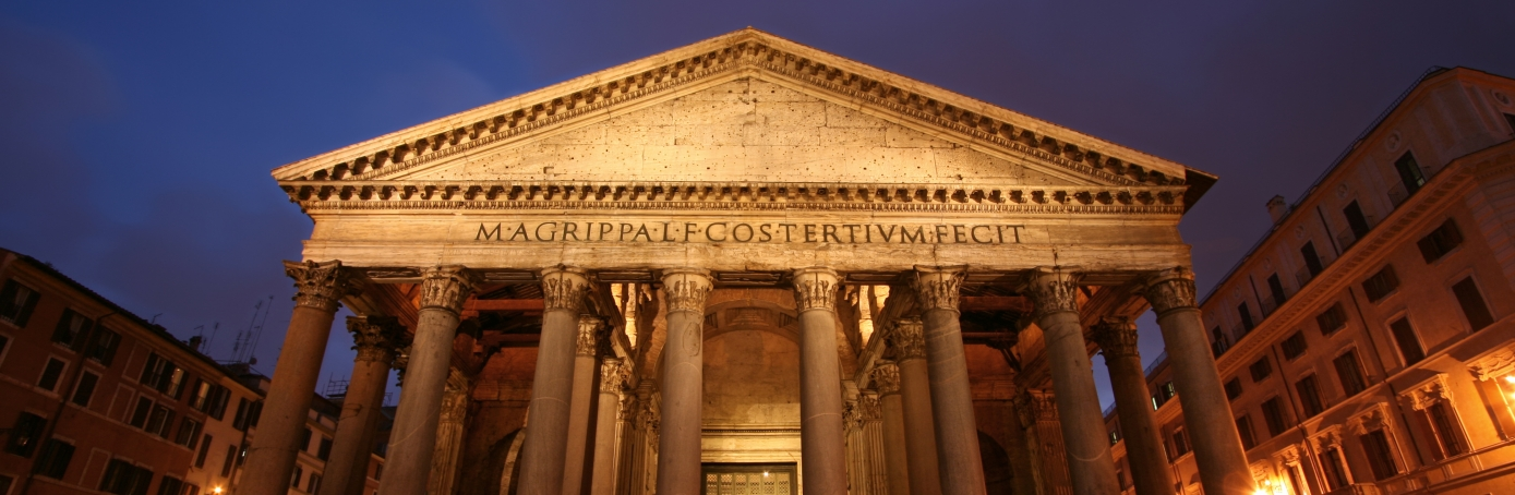 The Pantheon in Rome. (Credit: ROMAOSLO/Getty Images)
