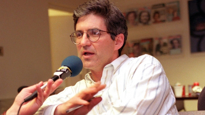 Newsweek reporter Michael Isikoff, the first reporter to come in with the story of the alleged sex scandal involving US President Bill Clinton and former White House intern Monica Lewinsky. (Credit: Luke Frazza/AFP/Getty Images)