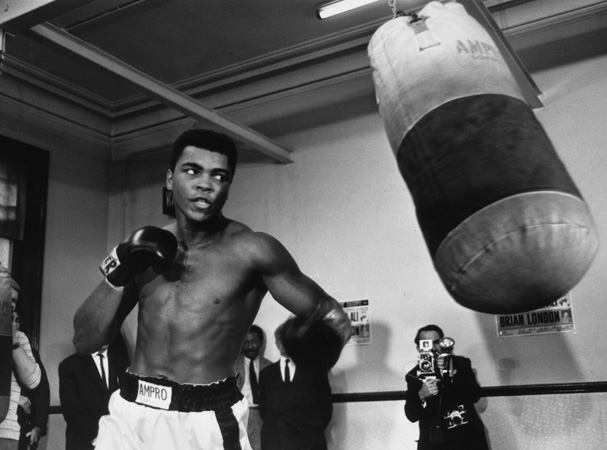 a biography of muhammad ali the greatest boxer Ever wonder why muhammad ali means so much to so many  with a non-stop  attack and maybe the best left hook in boxing history ali and.