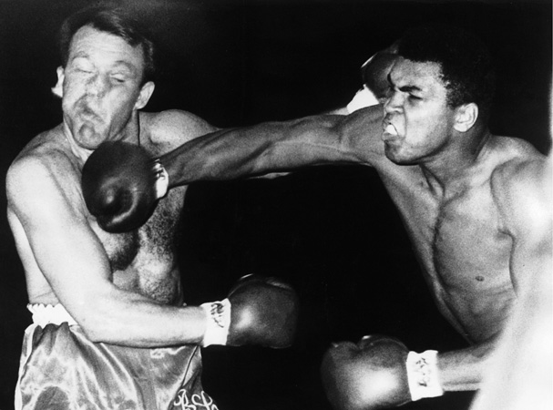 cassius clay the greatest boxer of all time Muhammad ali: a timeline of the life of the 'greatest of all time ali would join the nation of islam and change his name from cassius clay to muhammad ali.